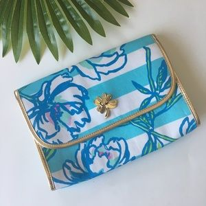 Lilly Pulitzer Bag Clutch Spring Fling Flower